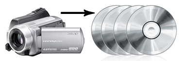 Camcorder to DVD Transfer