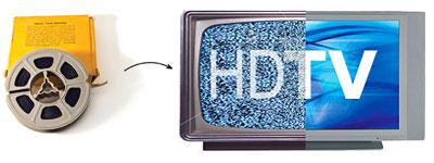 high definition film transfer
