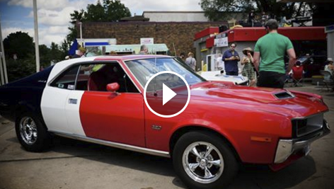 AMC Car Show Video Goes Viral Saving Tape Media Conversion - Minneapolis muscle car show